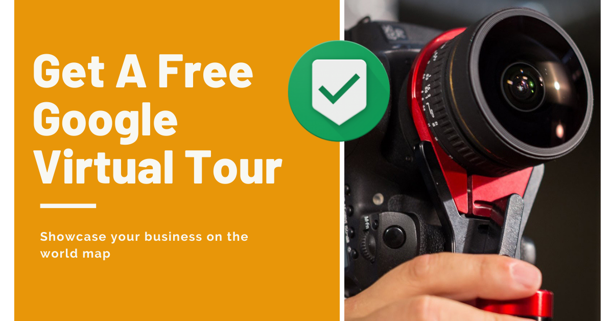 Get a FREE Google Virtual Tour from Google Trusted Photographer