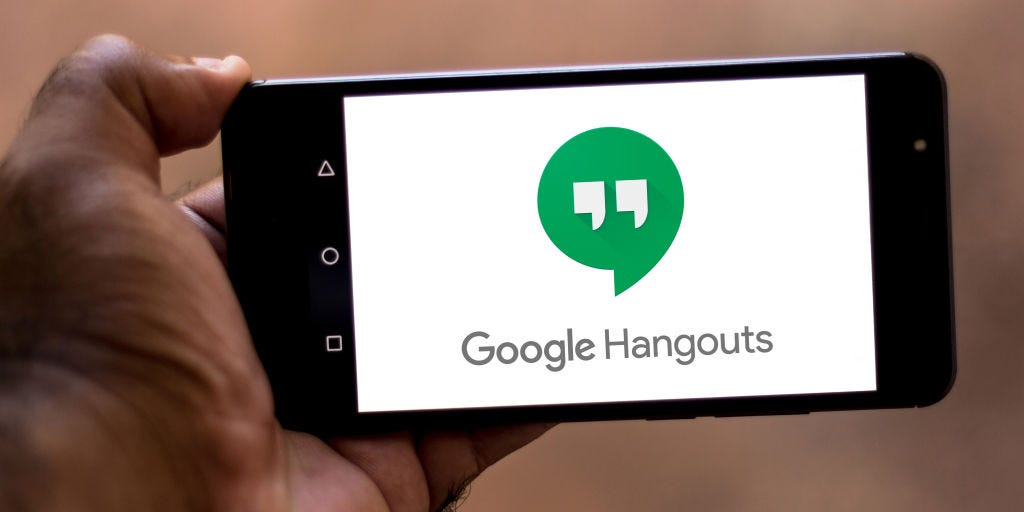 Share screen google hangouts