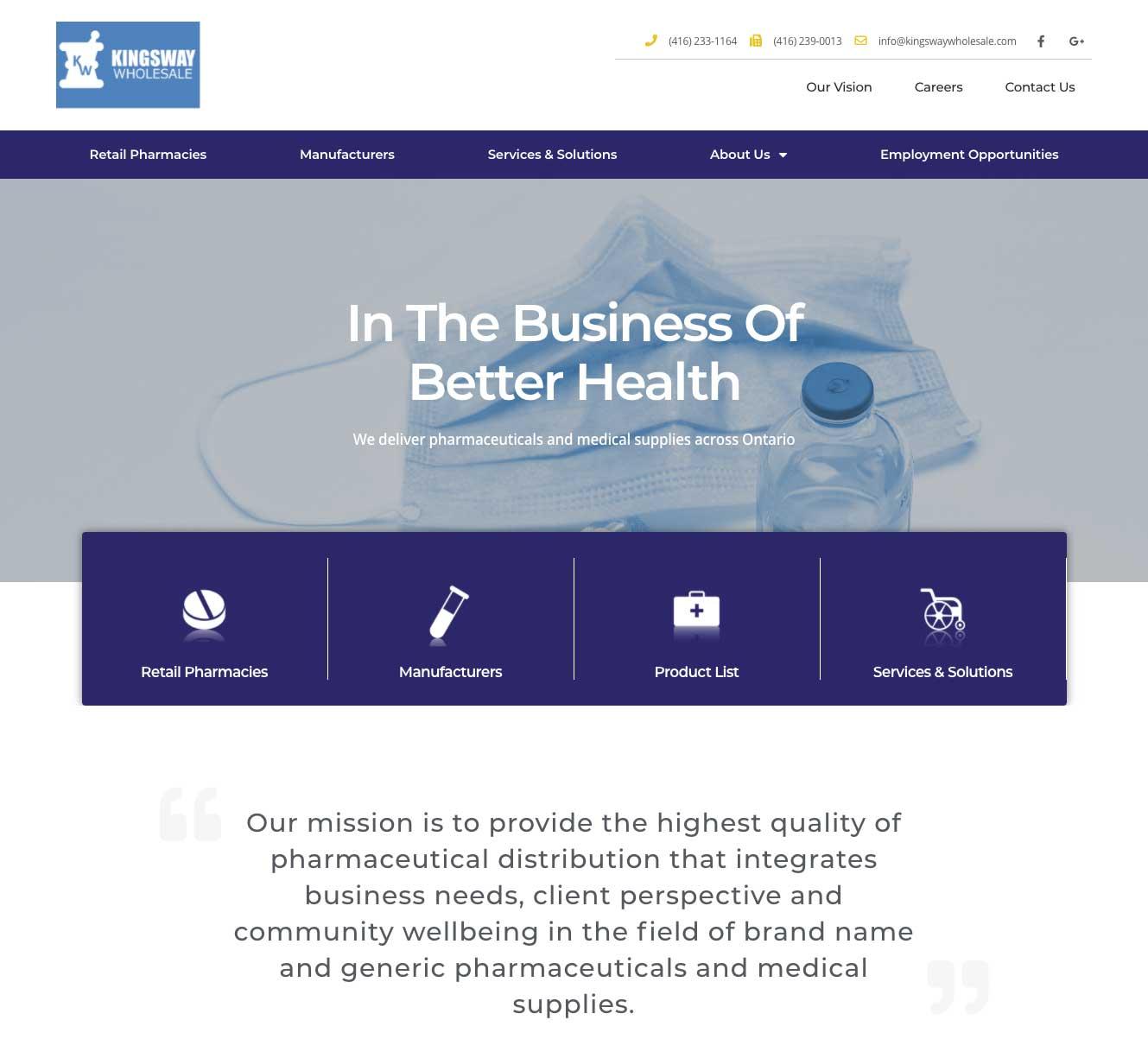 Medical-Supplier-Website